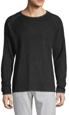 Standard Issue NYC Two-Tone Raglan Sleeve Sweater