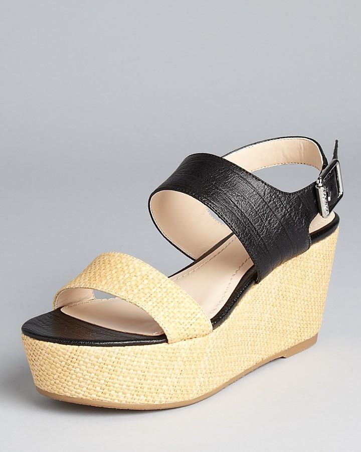 Calvin Klein Sandals - Lorianne Platform Wedge