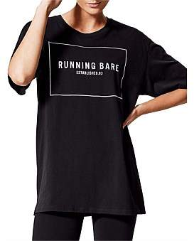 Running Bare Two Tribes Short Sleeve Tee