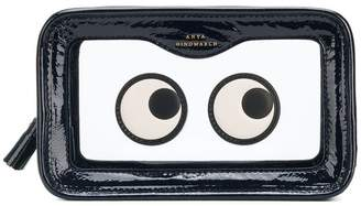 Anya Hindmarch eye print makeup bag