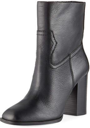 Splendid Nero Leather Booties