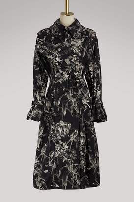 Alexander McQueen Bird trench coat