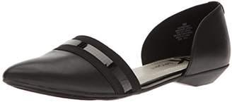 Anne Klein AK Sport Women's ONMYWAY Synthetic Pointed Toe Flat