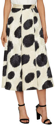 LK Bennett L.K.Bennett Monique Jacquard Full Skirt