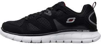 Skechers Boys Vim Turbo Ride Trainers Black/Red