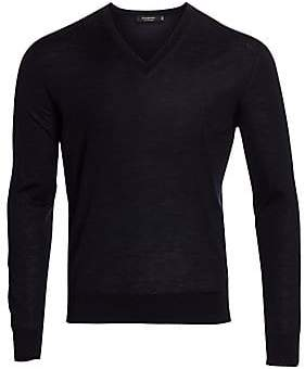 Ermenegildo Zegna Men's V-Neck Wool Sweater