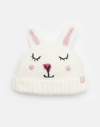 9d6210bb1e3 Joules PINK BUNNY Chummy Character hat Size 6m-12m