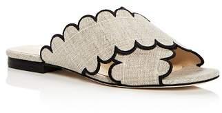 Isa Tapia Women's Nueva Linen Slide Sandals