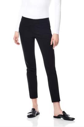 Ecru Velvet Striped Pant