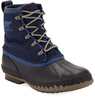 Sorel Men's Cheyanne II Short Nylon Lace-Up Duck Boots