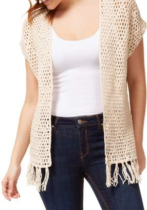 Dex Cotton Crochet Vest