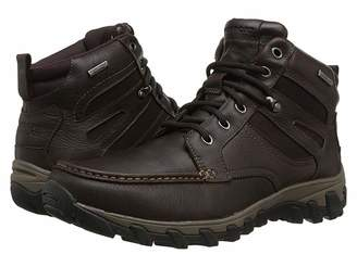 Rockport Cold Springs Plus Mocc Toe Boot - High 7 Eyelets Men's Boots