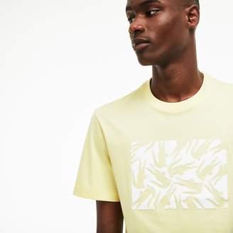 Lacoste Men's Graphic Design Cotton T-Shirt