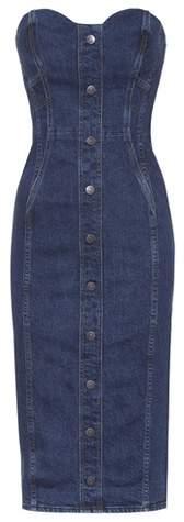 Jeanskleid aus Baumwolle
