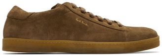 Paul Smith Brown Suede Huxley Sneakers