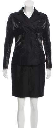 Chanel Iridescent Skirt Suit