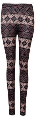Black Diamond GlowSol Women's Ankle Length Printed Leggings