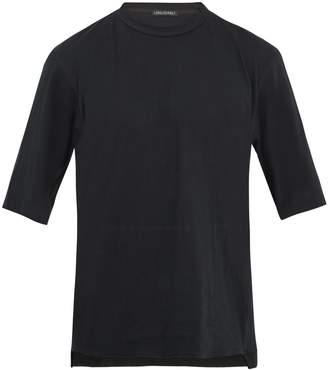Longjourney Nash Thank You-print cotton-jersey T-shirt