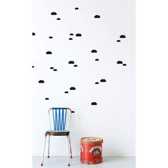 ferm LIVING Kids Cloud sticker - black