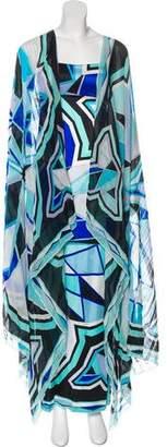 Emilio Pucci Strapless Maxi Dress
