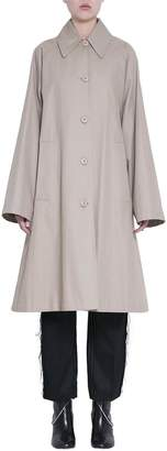 MM6 MAISON MARGIELA Beige Cotton Oversized Trench Coat