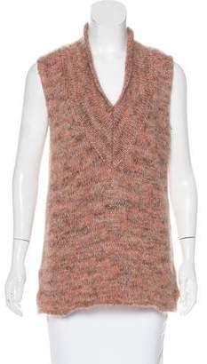 Calvin Klein Collection Mohair Sleeveless Sweater