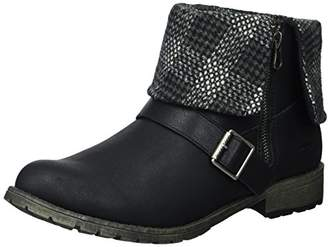 Rocket Dog Women's Bentley Lewis PU/Randy Fabric Ankle Boot