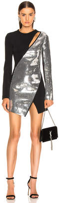 David Koma Cutout Sequin Mini Dress