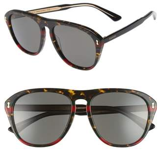 Gucci 56mm Sunglasses