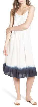 Splendid Tie Dye Ruffle Dress