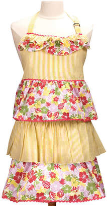 MANUAL WOODWORKERS AND WEAVER Adult Mommy & Me Yellow Apron