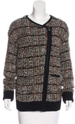 O'2nd Wool Zip-Up Cardigan