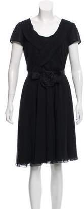 Armani Collezioni Silk Midi Dress