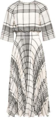 Pippa Lilli Jahilo Plaid Midi Dress Size: 38