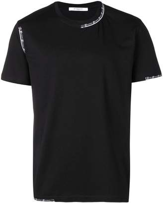 Givenchy slim fit tape detail T-shirt
