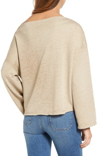 Women's Treasure & Bond Slouchy Fleece Pullover 5