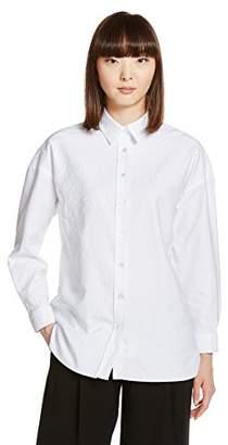 Finamore (フィナモーレ) - (フィナモレ) Finamore(フィナモレ) コットンビッグシルエットシャツ 012221-GRACE-LISA 01 ホワイト 40