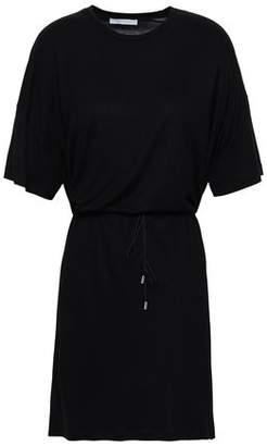 Ninety Percent Gathered Jersey Mini Dress