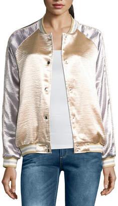 i jeans by Buffalo Metallic Bomber Jacket