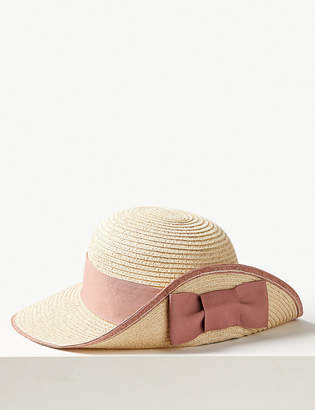 Marks and Spencer Metallic up Brim Sun Hat