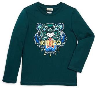 Kenzo Boys' Long Sleeve Tiger Tee - Big Kid