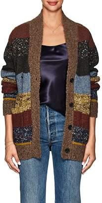 Raquel Allegra Women's Striped Knit Cardigan