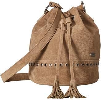 Roxy Hear Me Now Medium Bucket Bag Handbags