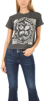 MadeWorn Rock Kiss Rock N Roll Crop Tee