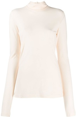 Jil Sander turtleneck long sleeved T-shirt