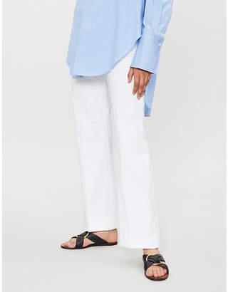 Joseph New Tropez wide-leg woven trousers