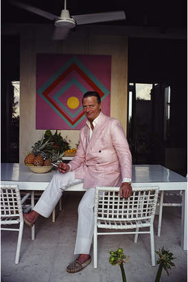"Jonathan Adler Slim Aarons David Nightingale Hicks"" Photograph"