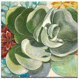 "Ready2hangart 'Botanical Bliss IV' Floral Canvas Wall Art, 30x30"""