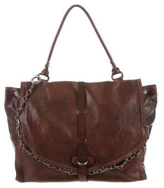 Campomaggi Distressed Leather Crossbody Bag