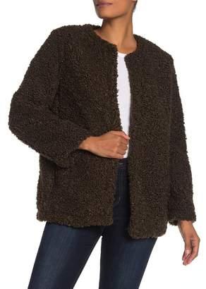 Max Studio Faux Shearling Jacket